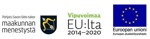 Live Like a Local in Rautavaara hankkeen rahoittajalogot